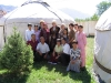 Naryn guesthouse staff