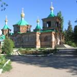 The Orthodox Cathedral in Karakol