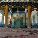 Inside the Dungan Mosque in Karakol