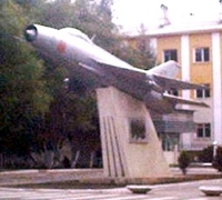 The MiG 21-F on Kievskaya