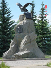 The Prezhervalsk Memorial in Karakol