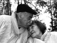 Lipkin and his widow, the poet Inna Lisnyanskaya